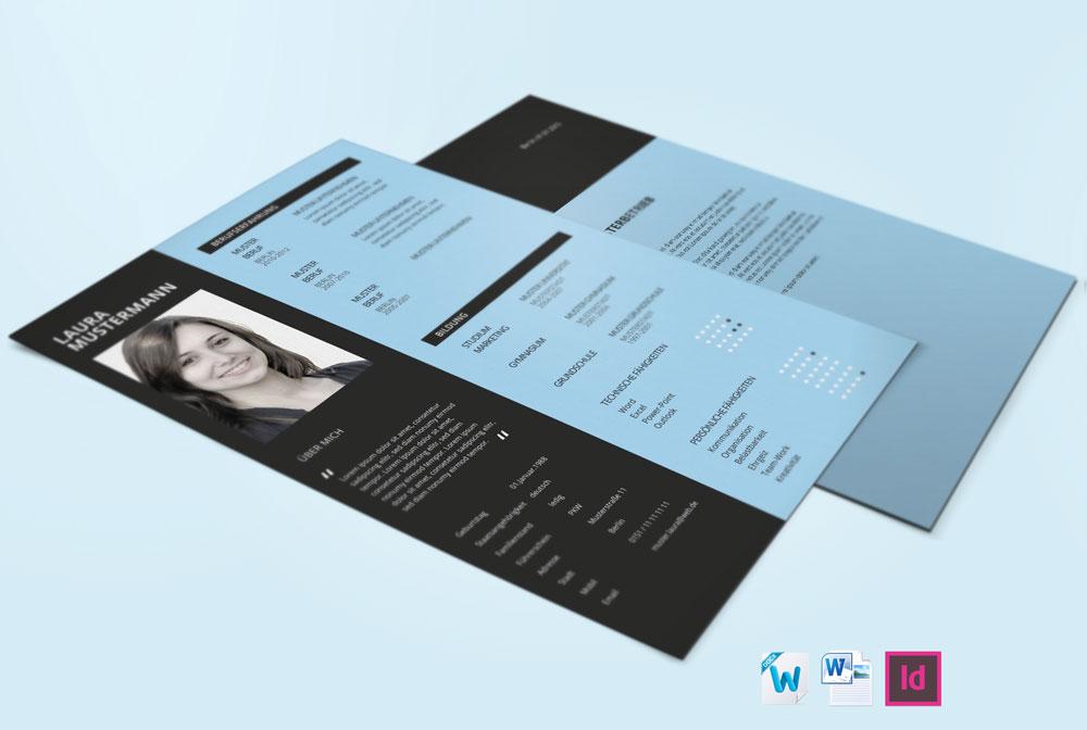 3 bewerbungsvorlage - Design Bewerbung