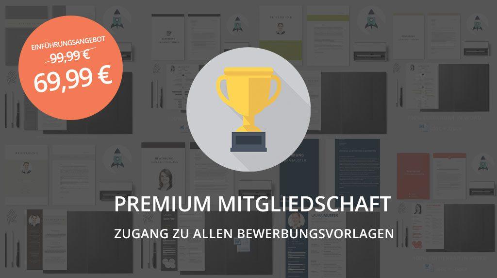 Bewerbungsvorlagen Premium-Paket #1